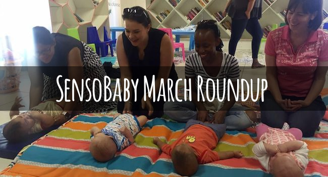 SensoBaby Activity Roundup – March