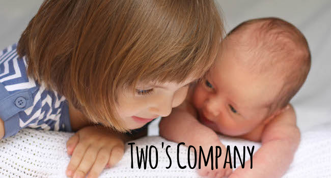 Two's Company: Newborn And Siblings Can Play Together