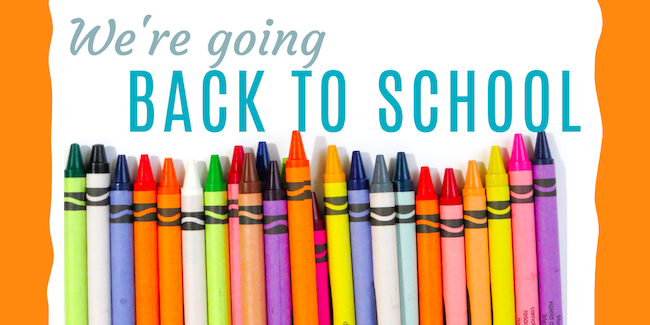 Back to School with SensoBaby